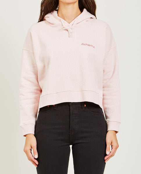 MAISON LABICHE AWESOME CROPPED HOODIE