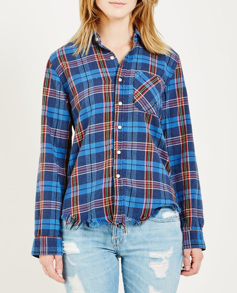 NSF AXEL SHIRT RASTA PLAID