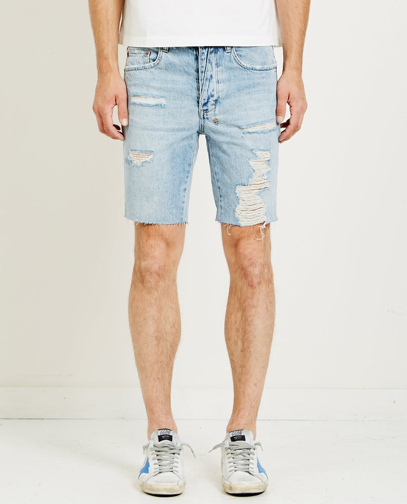 AXEL SHORT TRUE BLUE RIPPED-KSUBI-American Rag Cie