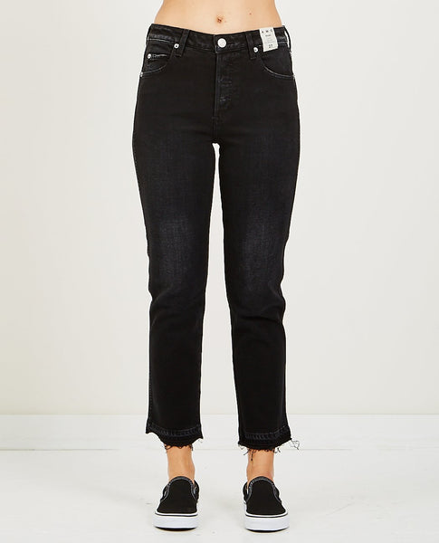 AMO BABE HIGH RISE SLIM BLACK