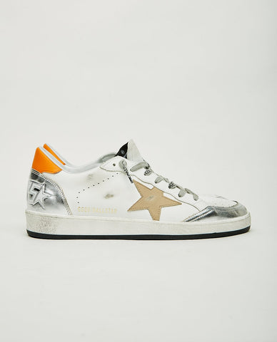 GOLDEN GOOSE Superstar White & Silver