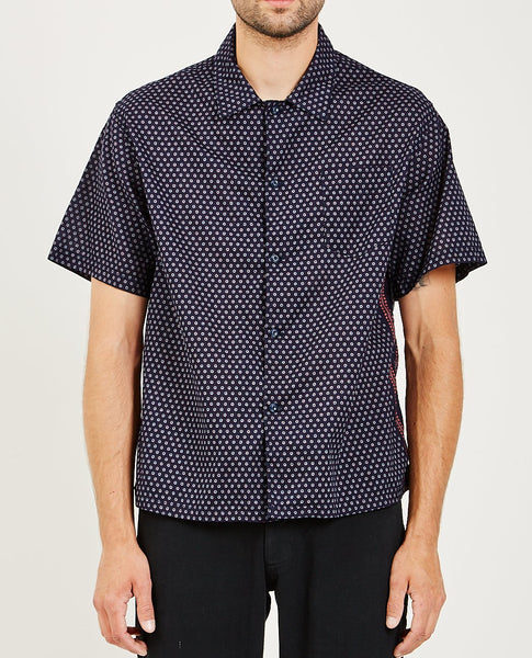 REMI RELIEF BANDANA DOTS PRINTED SHIRT