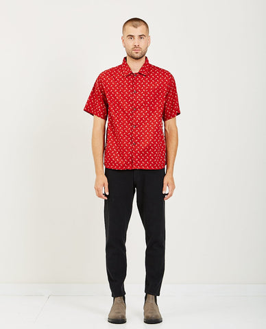 REMI RELIEF BANDANA CHECKED SHIRT