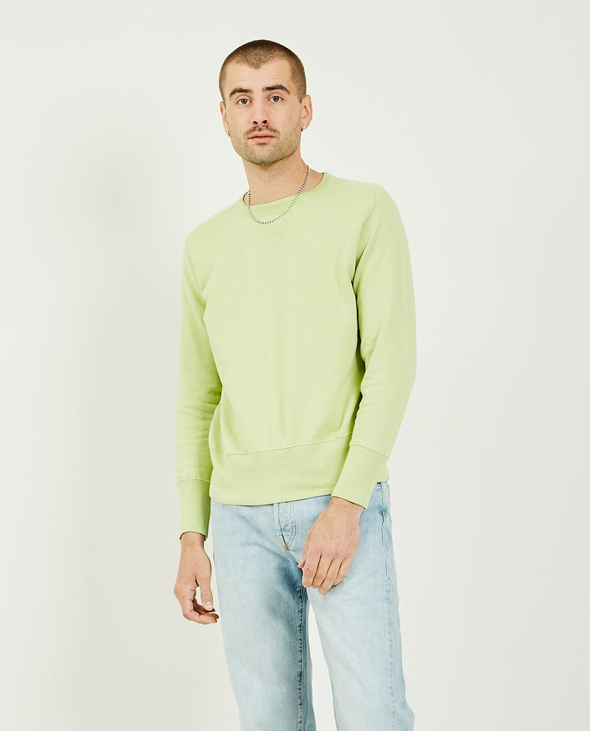 Bay Meadows Sweatshirt Apple Green-LEVI'S VINTAGE CLOTHING-American Rag Cie