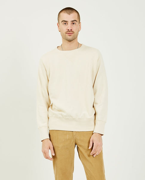 LEVI'S VINTAGE CLOTHING Bay Meadows Sweatshirt Cream
