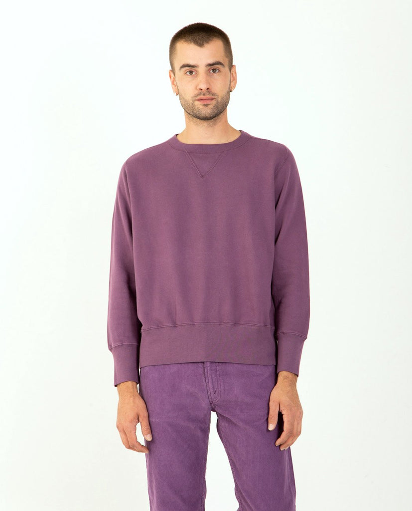 Bay Meadows Sweatshirt Dark Purple-LEVI'S VINTAGE CLOTHING-American Rag Cie