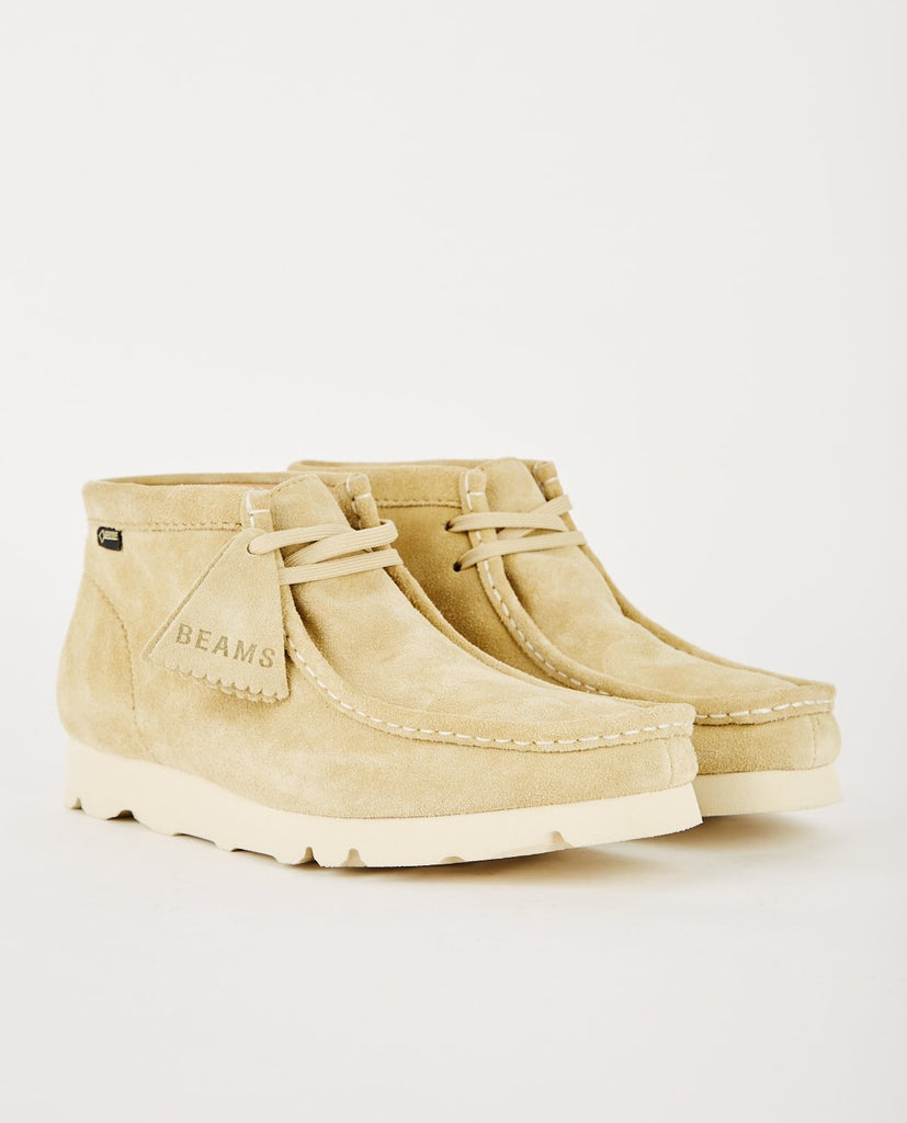 BEAMS X CLARKS WALLABEE GTX MAPLE-CLARKS ORIGINALS-American Rag Cie