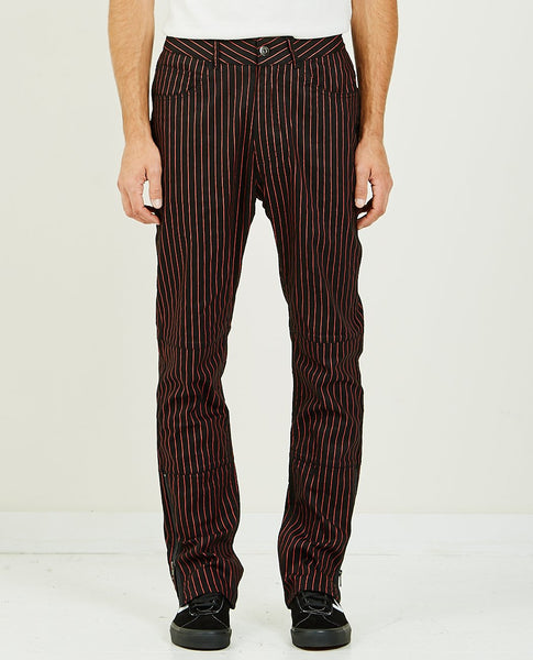 PLEASURES BEATLE PINSTRIPE PANT
