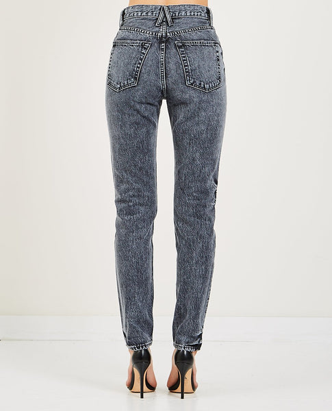 SLVRLAKE BEATNIK JEAN BLACK COAL