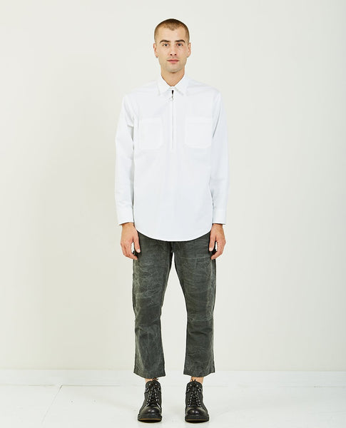 STAY MADE BEN HALF ZIP SHIRT