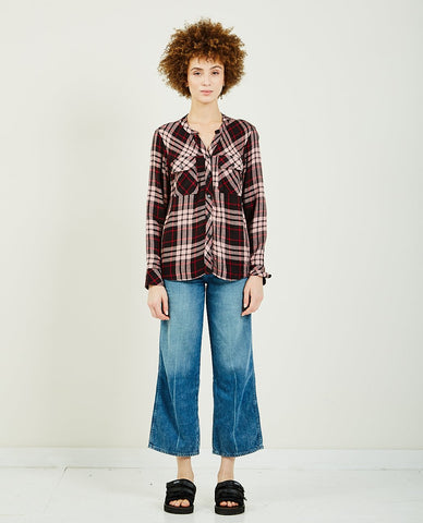 PLEASURES ORCHESTRA PLAID PANT