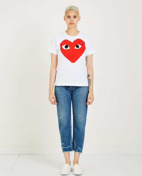COMME DES GARÇONS PLAY BIG RED HEART PLAY TEE