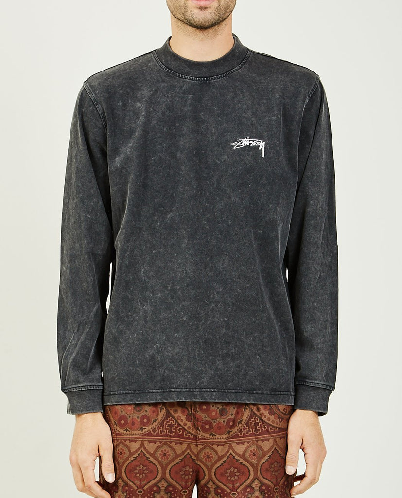 BIG STOCK MOCK SHIRT-STUSSY-American Rag Cie