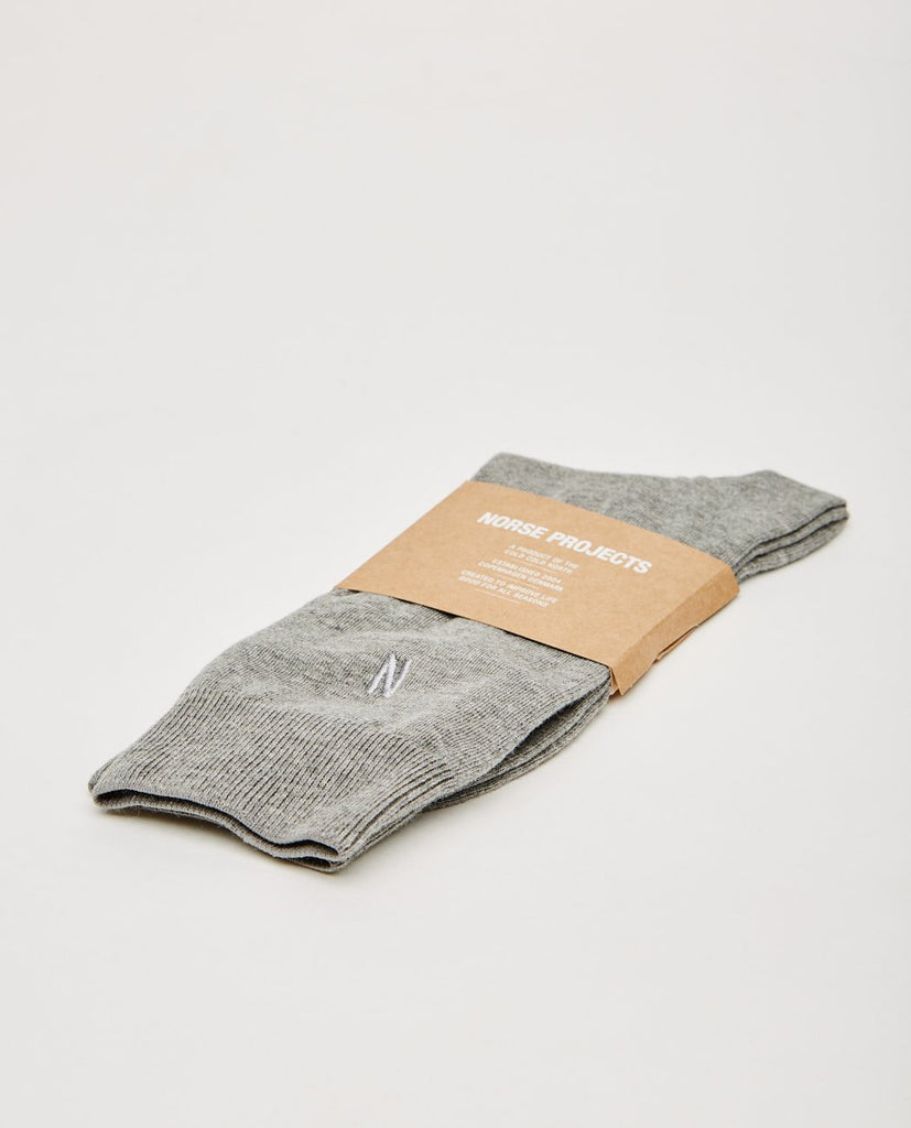 BJARKI COMBED COTTON SOCKS-NORSE PROJECTS-American Rag Cie