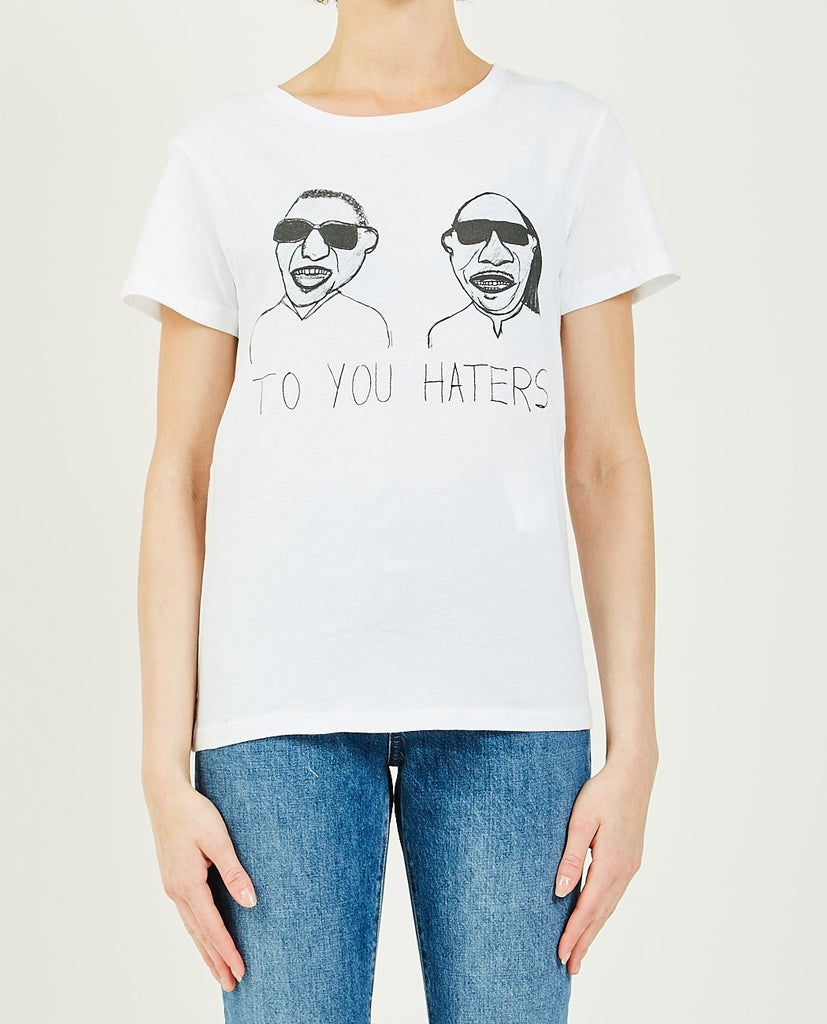 UNFORTUNATE PORTRAIT-Blind To You Haters Tee-Women Tees + Tanks-{option1]