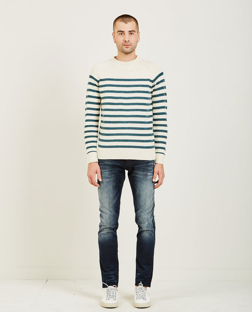 DENHAM BLOCK KNIT SWEATER CWB