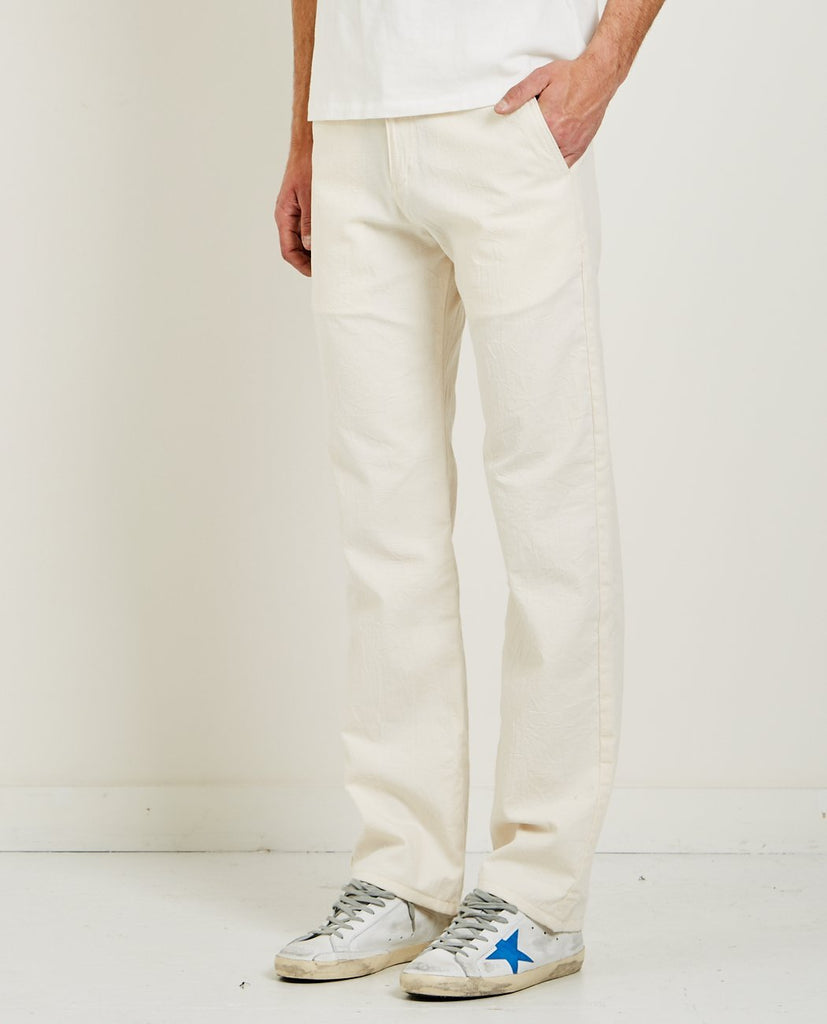 BONE HEAVY OXFORD WIDE CHINO-NAKED & FAMOUS-American Rag Cie