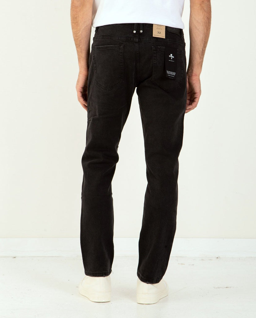 THRILLS-Bones Jean Faded Black-Men Slim-{option1]