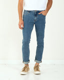 THRILLS-Bones Jean Rinsed Blues-Men Slim-{option1]