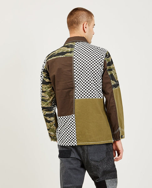 FDMTL Boro Patchwork Coverall Jacket