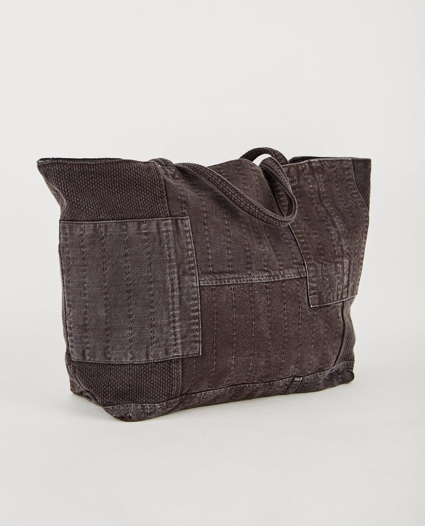 BORO TOTE BAG FADED BLACK-PROSPECTIVE FLOW-American Rag Cie