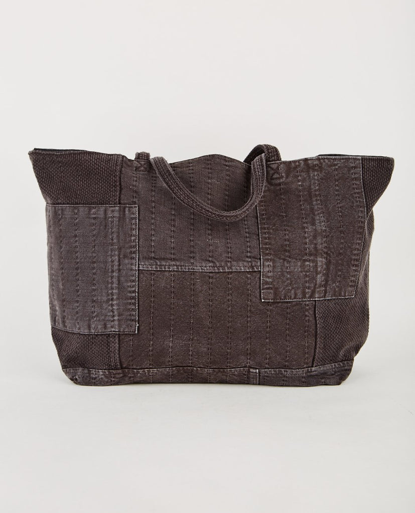 PROSPECTIVE FLOW-BORO TOTE BAG FADED BLACK-Men Bags-{option1]