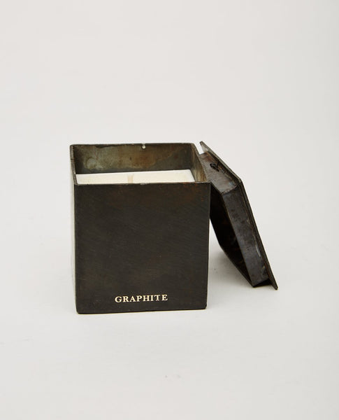 MAD ET LEN Bougie Black Block Candle 7Cm X 7Cm