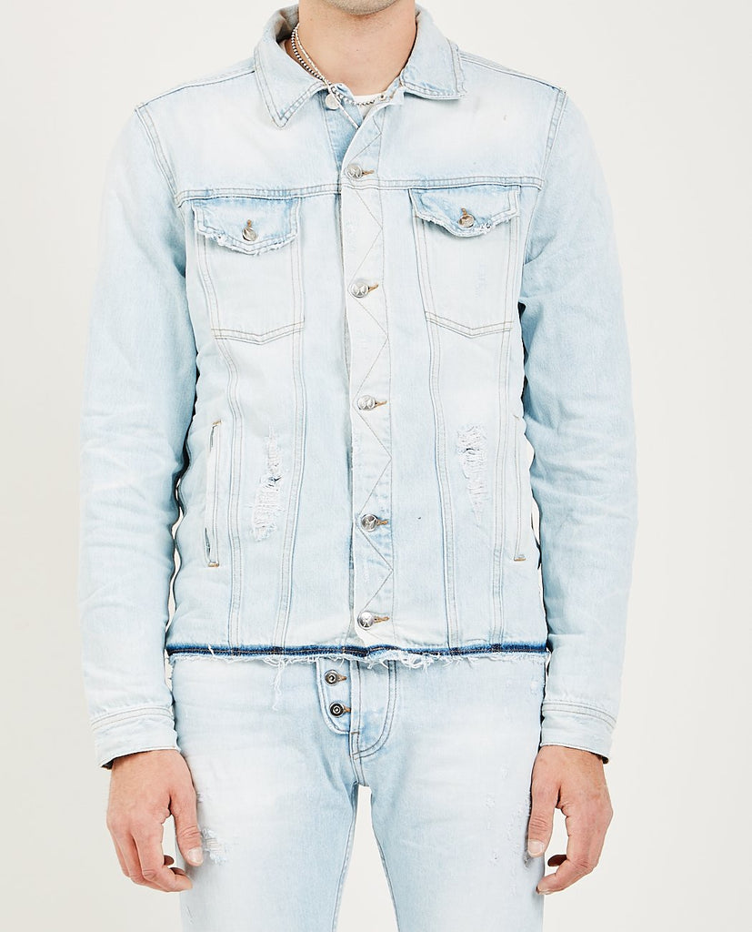 ARTMEETSCHAOS-BOWERY DENIM JACKET-Men Coats + Jackets-{option1]