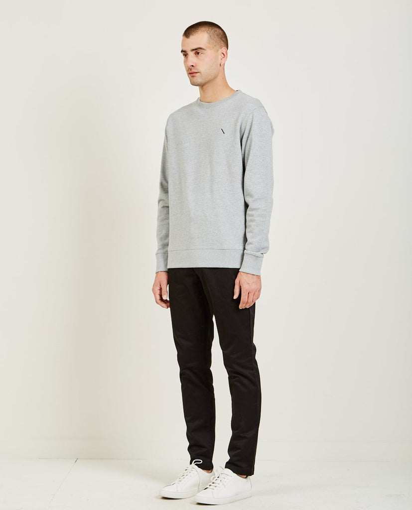 BOWERY SLASH EMBROIDERED SWEATSHIRT-SATURDAYS NYC-American Rag Cie