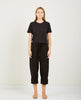RICHER POORER-BOXY CROP TEE BLACK-Women Tees + Tanks-{option1]