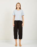 Boxy Crop Tee Blue Grey-RICHER POORER-American Rag Cie