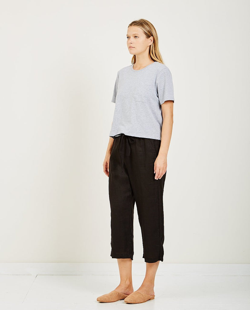 RICHER POORER-Boxy Crop Tee Grey-Women Tees + Tanks-{option1]