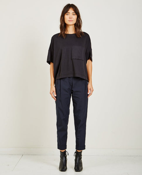 SUZANNE RAE BOXY POCKET TEE