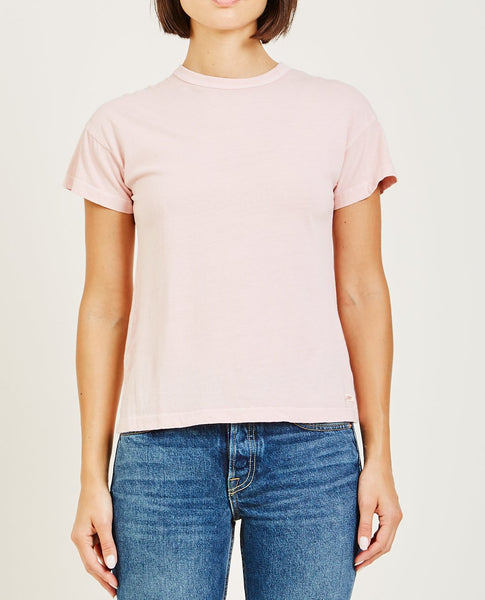 AR321 BOXY SHORT SLEEVE TEE POWDER PINK