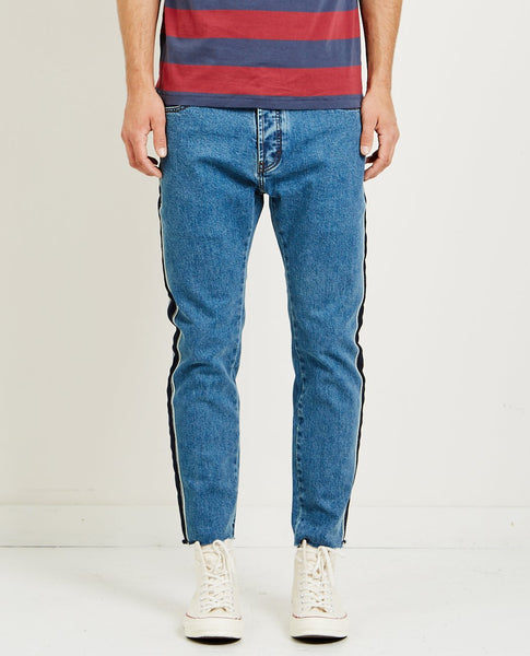 BARNEY COOLS B.RELAXED JEAN TAPED DENIM CR