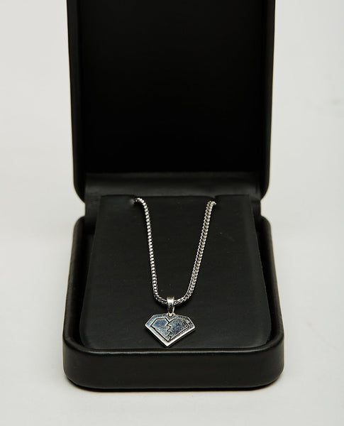 FOR THOSE WHO SIN BROKEN HEART CHARM NECKLACE