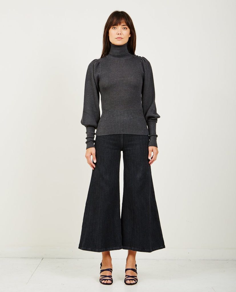 ULLA JOHNSON-BRYNN TURTLENECK-Women Sweaters + Sweatshirts-{option1]