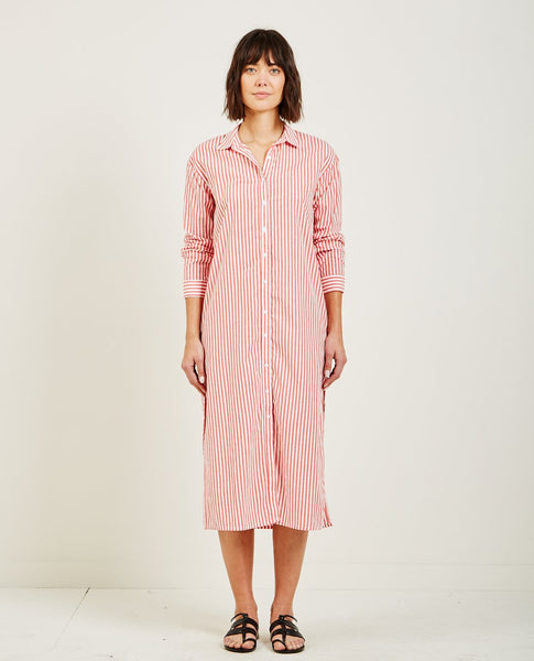 STATESIDE BUTTON DOWN SHIRT DRESS