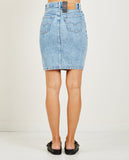 LEVI'S-BUTTON THRU MOM SKIRT IN HEART OF STONE-Skirts-{option1]