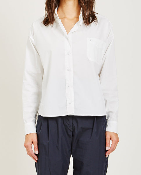 SUZANNE RAE BUTTON UP BLOUSE