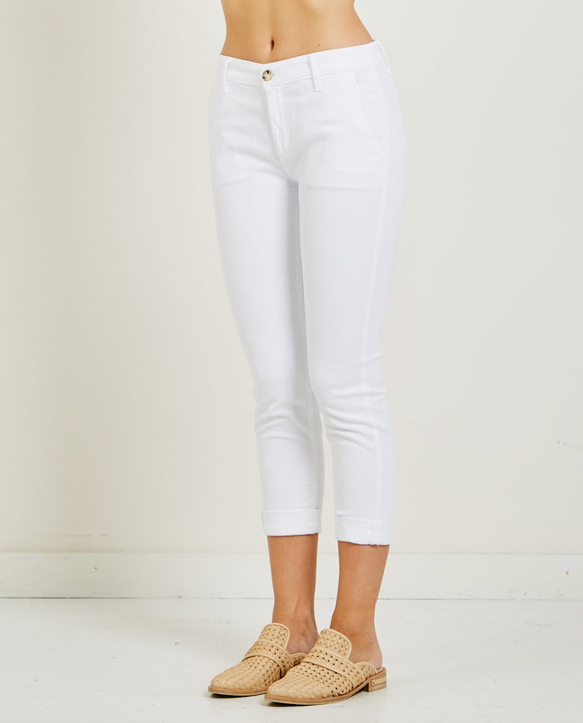 AG JEANS-CADEN CHINO WHITE-Women Pants-{option1]
