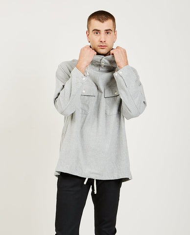 DROLE DE MONSIEUR Printed Collar Sweatshirt