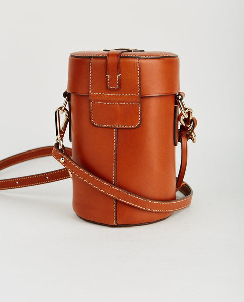 BOLDRINI CALF LEATHER CONE BAG
