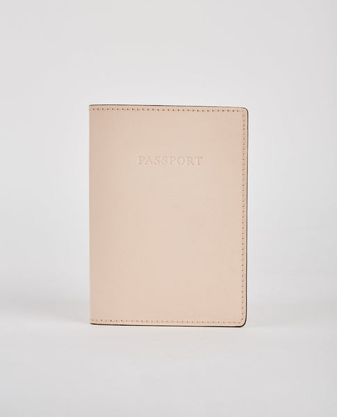 BOLDRINI CALF LEATHER PASSPORT HOLDER