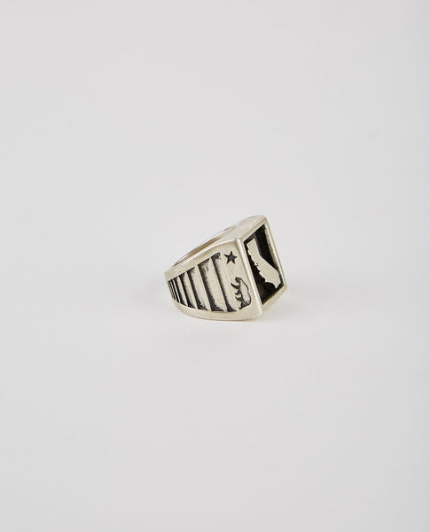 SPEAKEASY ORIGINAL CALIFORNIA BLOCK RING