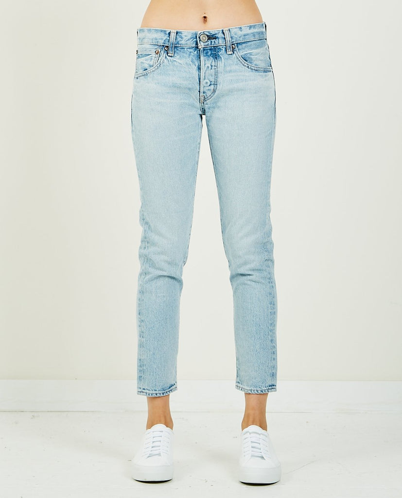 CAMILLA TAPERED LIGHT BLUE-MOUSSY VINTAGE-American Rag Cie