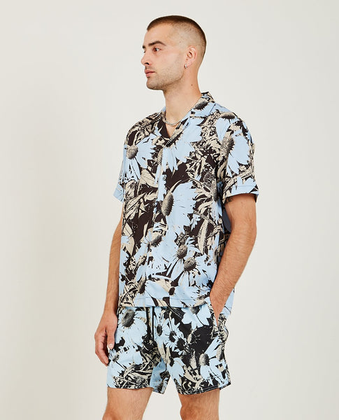 SATURDAYS NYC Canty Daisy Print Shirt