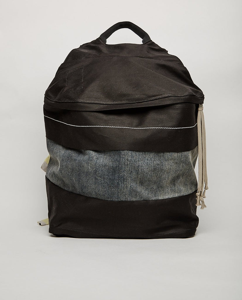 RICK OWENS DRKSHDW CANVAS PATCH RUCKSACK