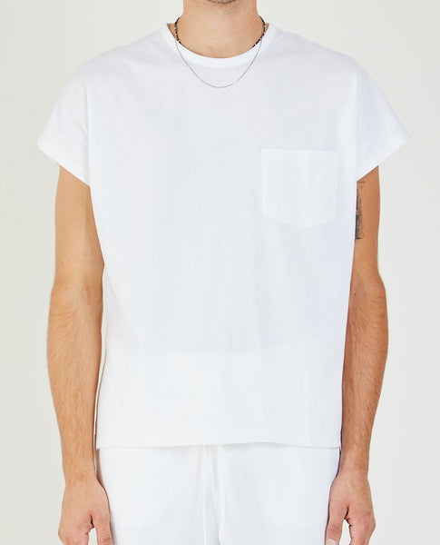 SECOND/LAYER CAP SLEEVE BOX T-SHIRT