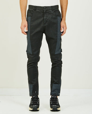 ZANEROBE JUMPA PLAID CHINO PANT GREY